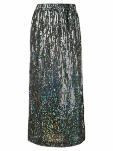 Comme Des Garçons Pre-Owned 1999's sequined skirt - Silver