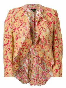 Comme Des Garçons Pre-Owned 2003's embroidered jacket