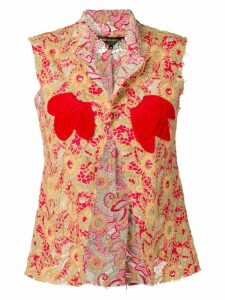 Comme Des Garçons Pre-Owned 2003's embroidered waistcoat