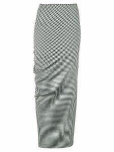 Comme Des Garçons Pre-Owned 1997's gingham check skirt - Black