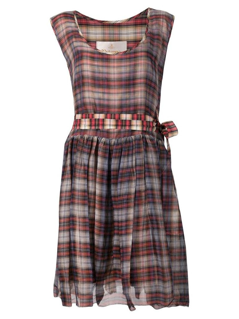 Vivienne Westwood Vintage tartan dress - Orange