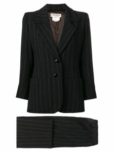 Yves Saint Laurent Pre-Owned pinstriped skirt suit - Black