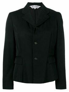 Comme Des Garçons Pre-Owned ruched lining blazer - Black