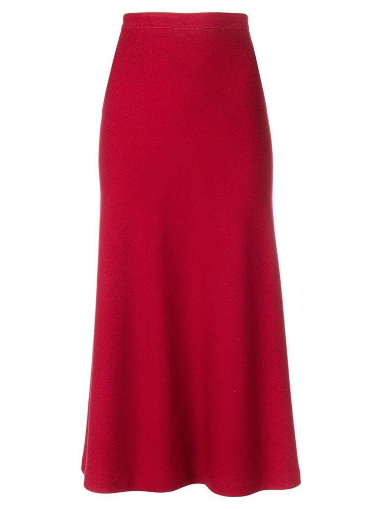 Alaïa Vintage midi skirt - Red