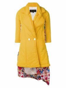 Comme Des Garçons Pre-Owned Docking puff coat - Yellow