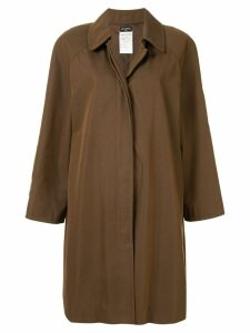 Chanel Pre-Owned 1997 coat jacket - Brown