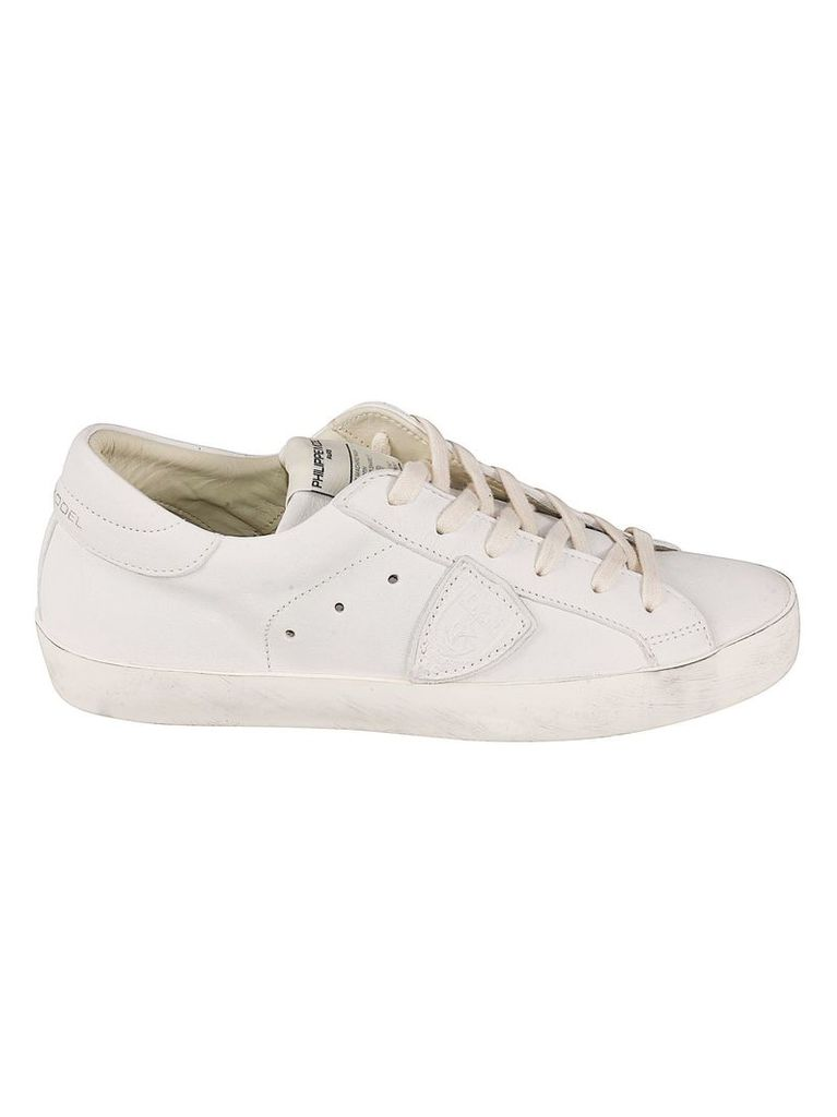 Philippe Model Classic Side Logo Patch Sneakers