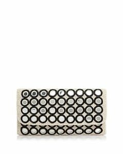 From St Xavier Epiphany Ii Bead & Mirror Clutch