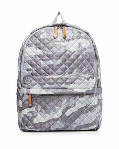 Mz Wallace Gray Camo Metro Backpack