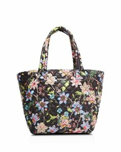 Mz Wallace Black Floral Medium Metro Tote - 100% Exclusive