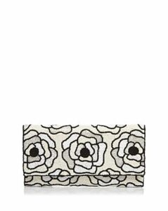 From St Xavier Flora Ii Beaded Clutch
