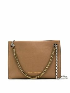 Marc Jacobs double chain crossbody bag - Brown