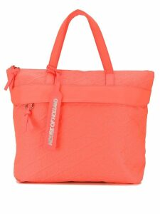 House of Holland embroidered logo tote - Orange