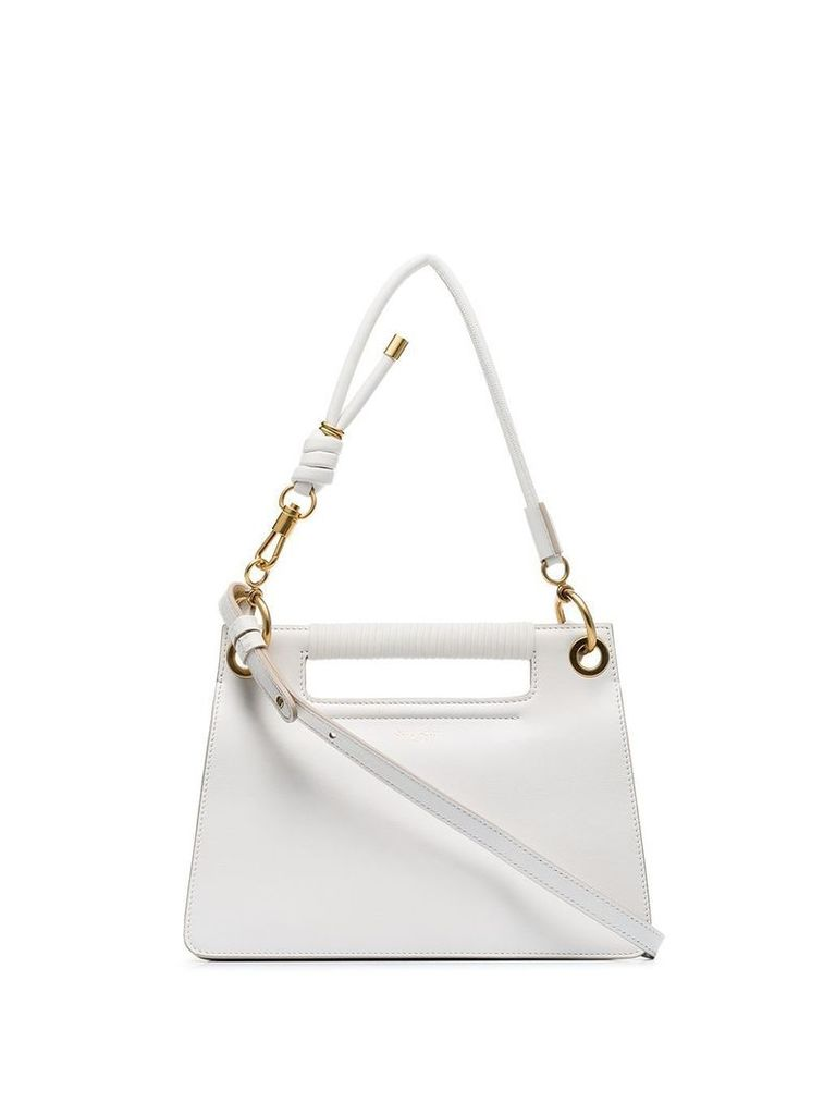 Givenchy White Whip small leather shoulder bag