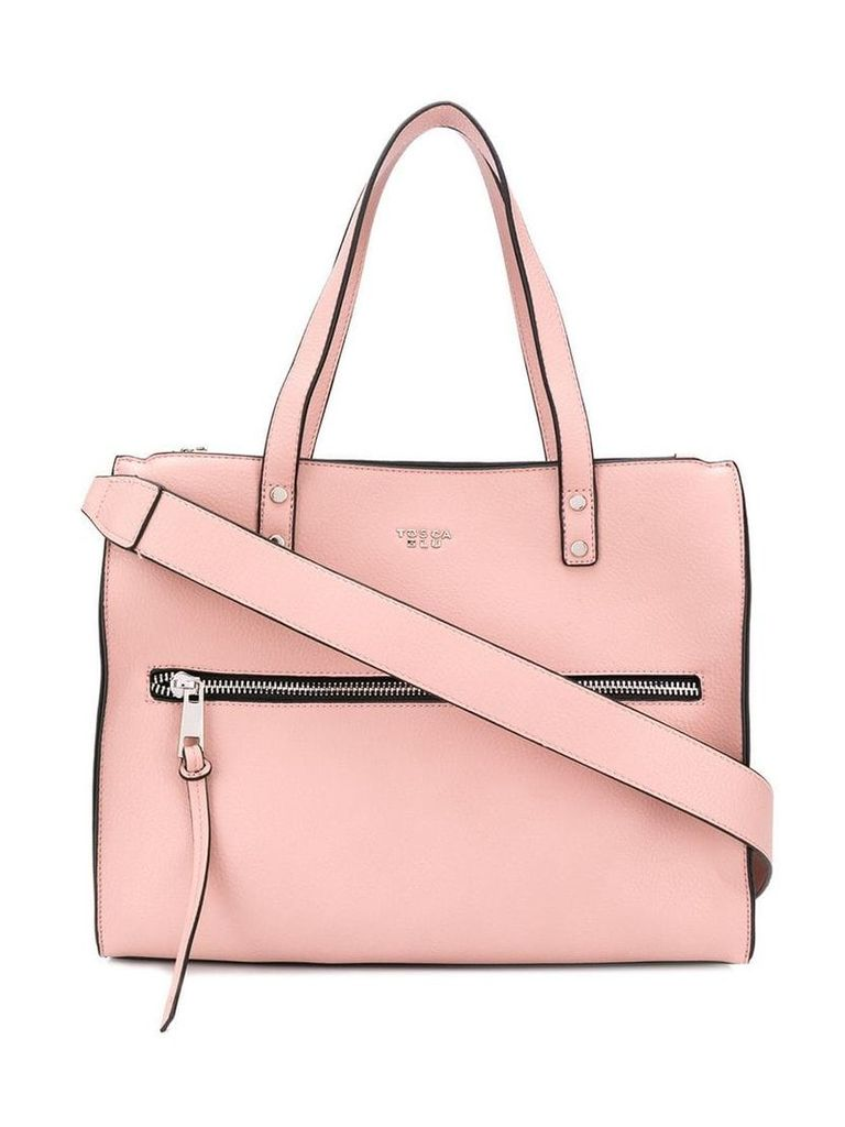 Tosca Blu shoulder panelled bag - Pink