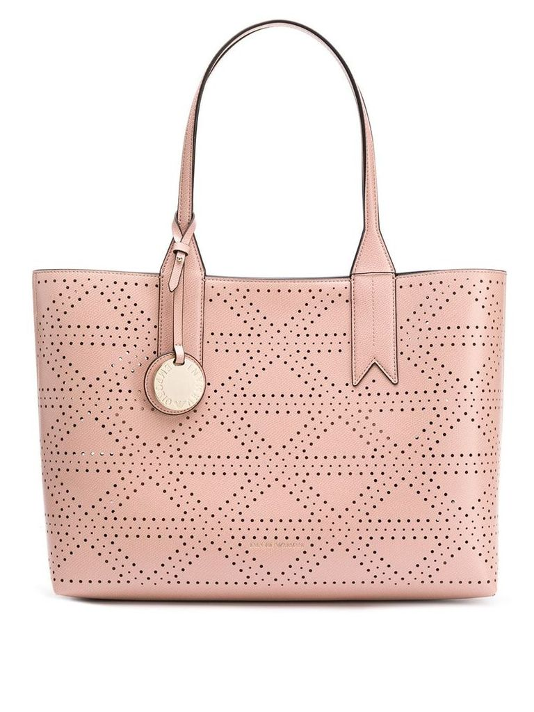Emporio Armani classic shopper bag - Pink