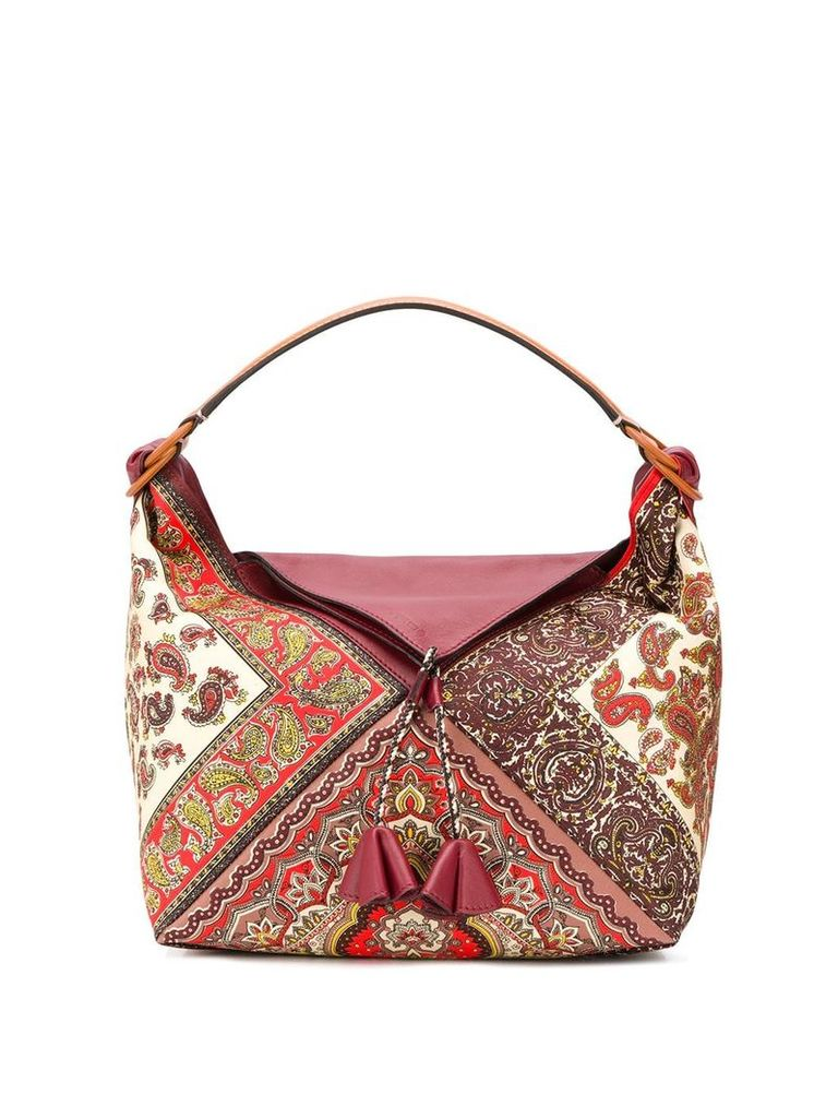 Etro paisley print tote - Red