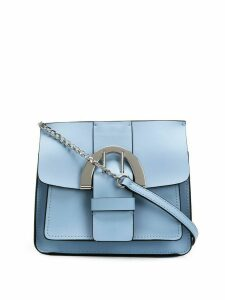 Zac Zac Posen Biba Buckle Chain Crossbody - Blue