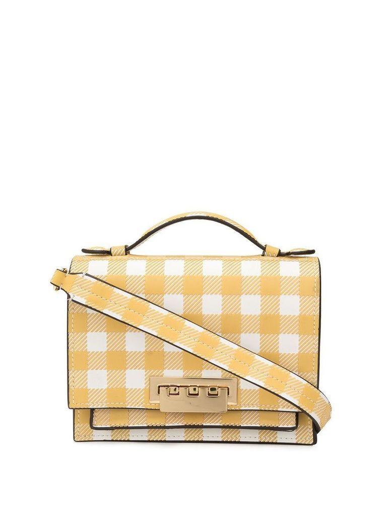 Zac Zac Posen Earthette accordion mini shoulder bag - Yellow