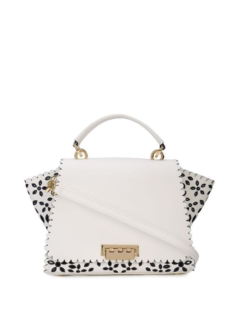 Zac Zac Posen Eartha Medium Soft Top Handle - White