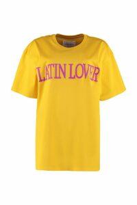 Alberta Ferretti Latin Lover Cotton T-shirt
