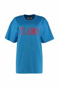 Alberta Ferretti Ti Amo Cotton T-shirt