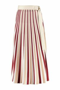 Moncler Pleated Knitted Skirt
