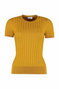 Salvatore Ferragamo Ribbed Knit T-shirt