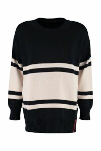 Weekend Max Mara Abaco Striped Cotton Sweater