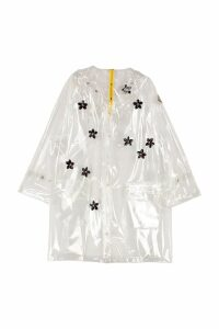 Moncler Floral Embroidery Pvc Raincoat