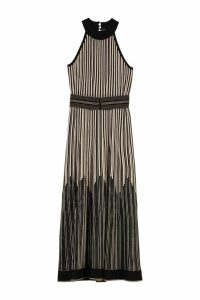 D.Exterior Lurex Knitted Long Dress