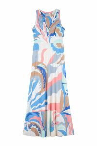 Emilio Pucci Multicolor Jersey Long Dress