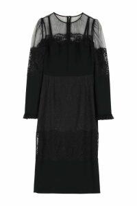 Dolce & Gabbana Cady Midi Sheat-dress