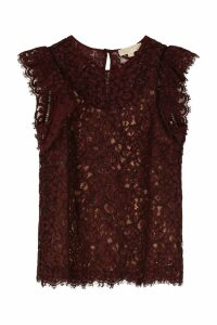 Michael Kors Floral Lace Top
