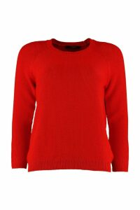 Weekend Max Mara Fiorigi Crew-neck Cotton Sweater