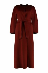 Max Mara Studio Beirut Belted Long Coat