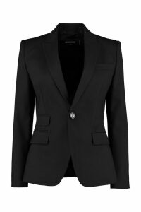Dsquared2 Stretch Wool Blazer