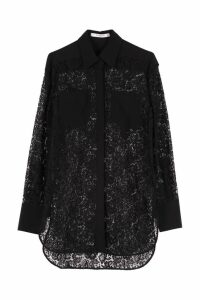 Givenchy Oversize Lace Shirt