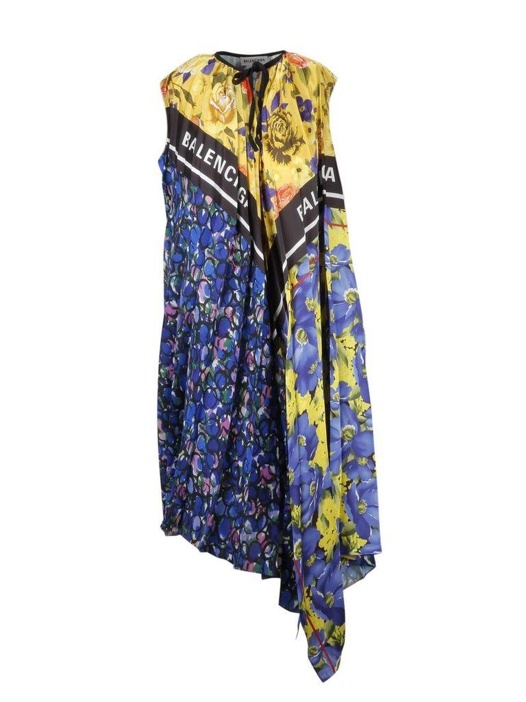 Balenciaga Foulard Dress
