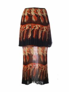 Fendi Bird Print Skirt