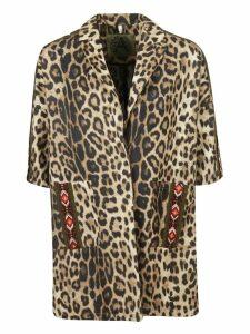 Alessandra Chamonix Leopard Print Coat