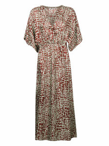 Barena All-over Print Dress