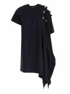 Sacai Asymmetric T-shirt Dress