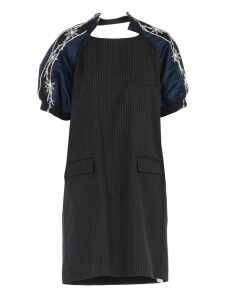 Sacai Pinstripe Tailored Dress