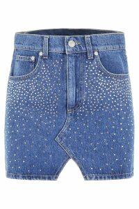 Chiara Ferragni Crystal Mini Skirt