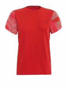 Polo Ralph Lauren Paisley Print Sleeve T-shirt