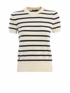 Polo Ralph Lauren Cotton Blend Striped Crew Neck