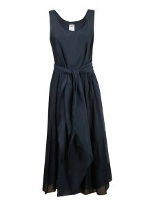 Max Mara Tie Waist Dress