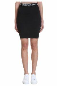 Calvin Klein Jeans Logo Elastic Band Skirt