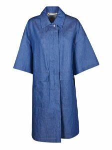 Dries Van Noten Denim Oversized Shirt Dress